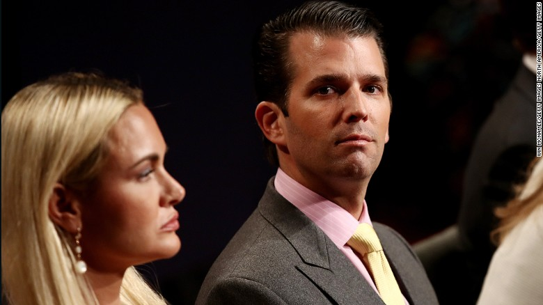 United States  man arrested for mailing suspect letter to Trump Jr