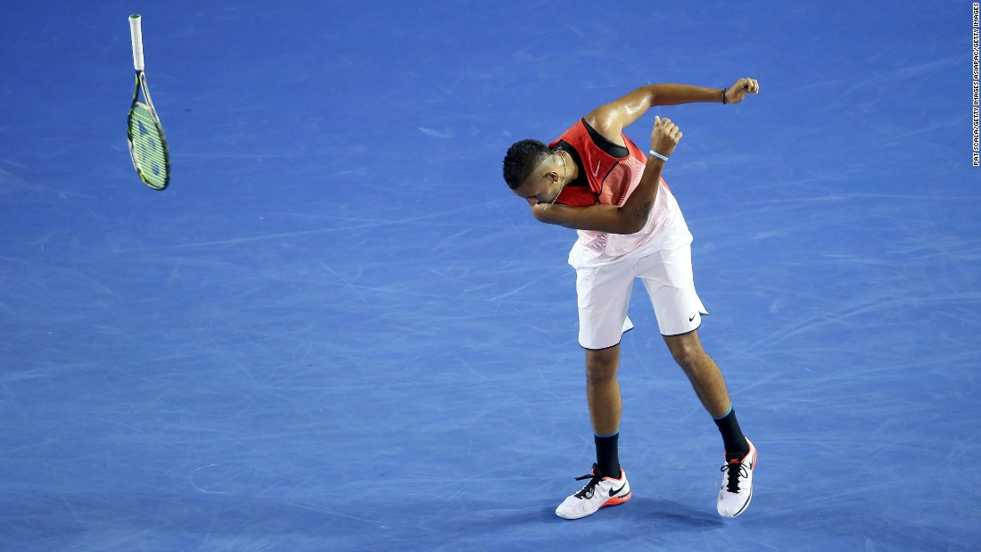 Yet another player to make a comeback is Nick Kyrgios. The reason he was out? The Australian was banned for eight weeks by the ATP tour in October for, essentially, a lack of effort.