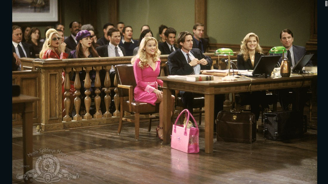 "<strong>""Legally Blonde"": </strong>This 2001 comedy starring Reese Witherspoon as a plucky law student with a passion for pink is so beloved it spurred sequels and a Broadway musical. <strong>(Hulu) </strong>"