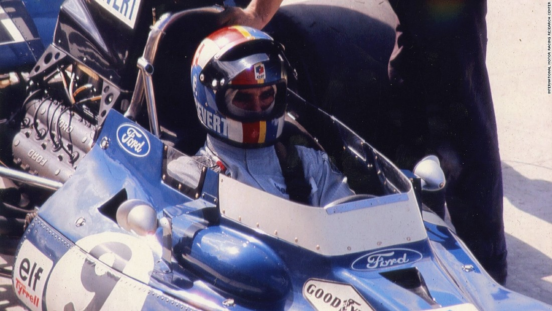 There was tragedy too, though. Stewart's Tyrrell teammate Francois Cevert was killed after crashing during qualifying for the 1973 US Grand Prix.