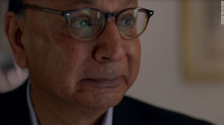 New Clinton ad features tearful Khizr Khan