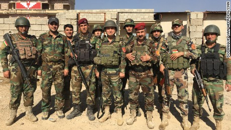 Brigadier General Bajat Mzuri and his men.