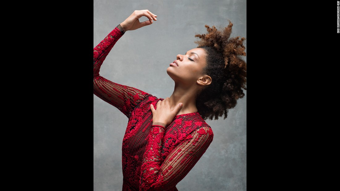 "Alvin Ailey American Dance Theater dancer Fana Tesfagiorgis. ""I wish more people knew what it felt like to actually dance,"" Tesfagiorgis said. ""When your most-focused mind, your most-moldable body and your truest spirit all intertwine at their highest level. It can literally feel like flying."""