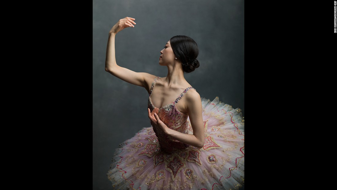 "Boston Ballet principal Misa Kuranga. ""It's not about being small, it's not about being Asian or not about having an unfortunate body for ballet,"" Kuranga said. ""It's about how willing you are to dedicate your entire life to this art form."""