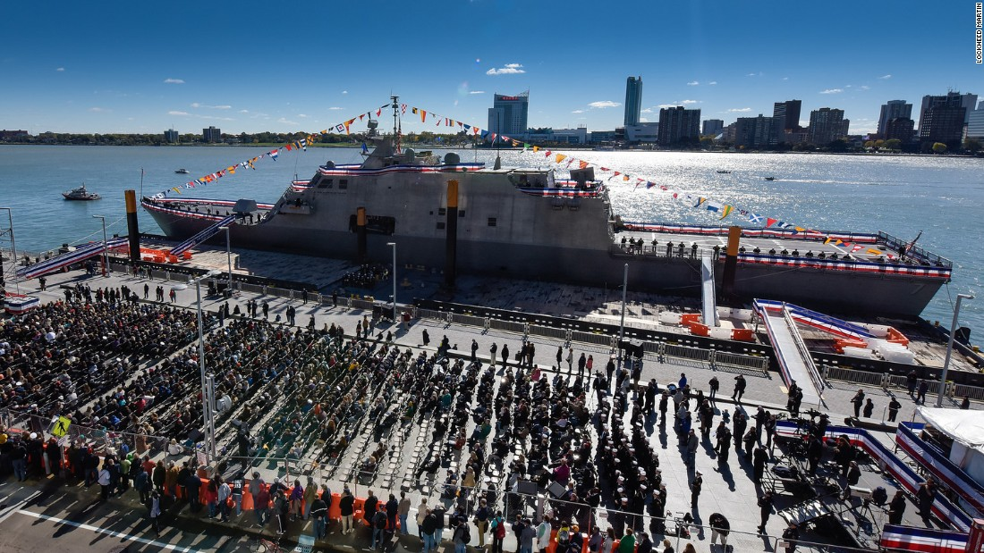 US Navy commissions newest littoral combat ship