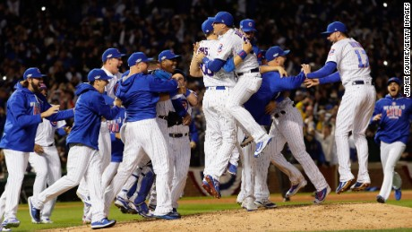 Chicago Cubs go to the World Series