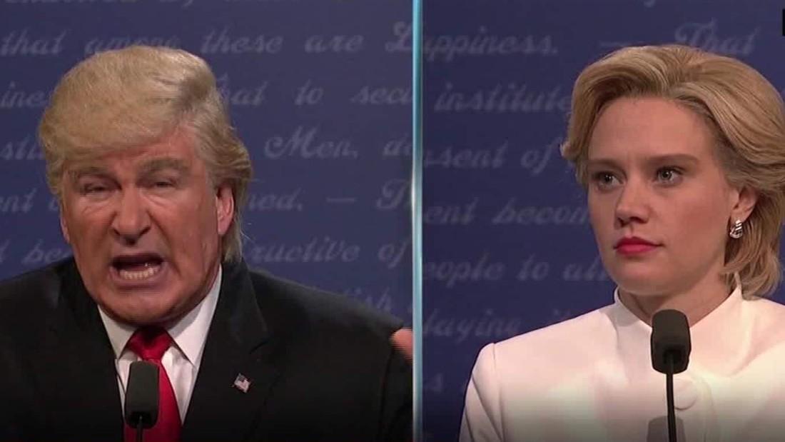 'SNL' mocks last presidential debate