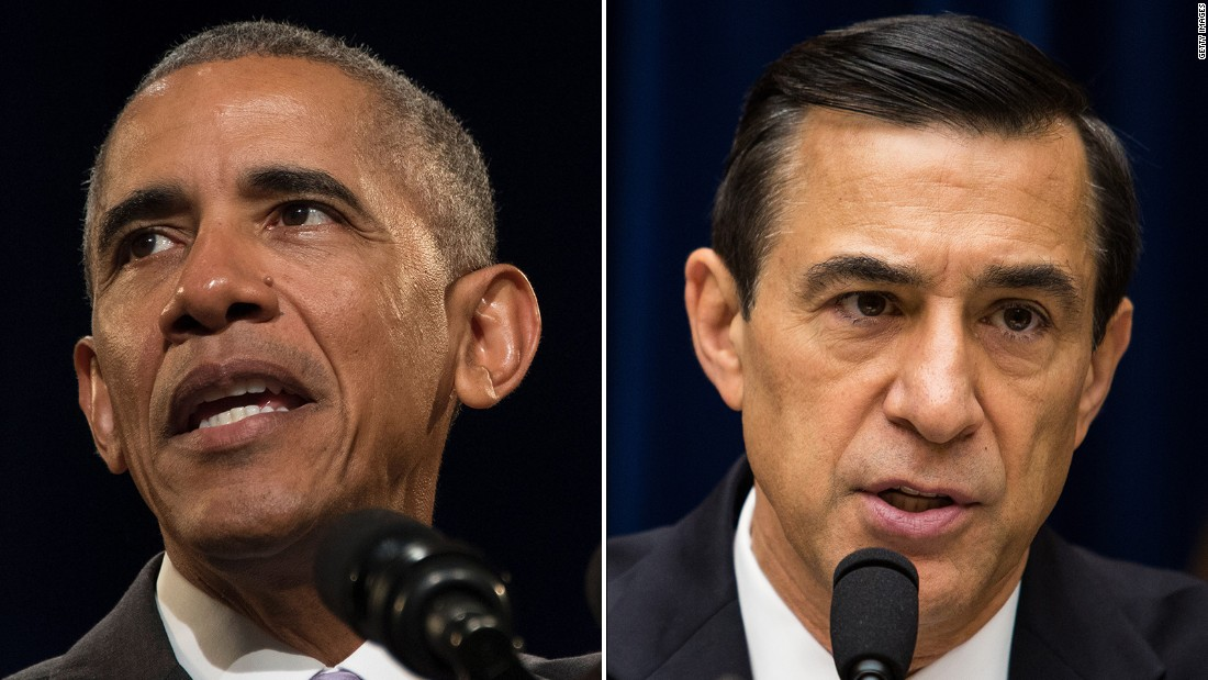 Obama: Issa 'not somebody who is serious about working on problems'