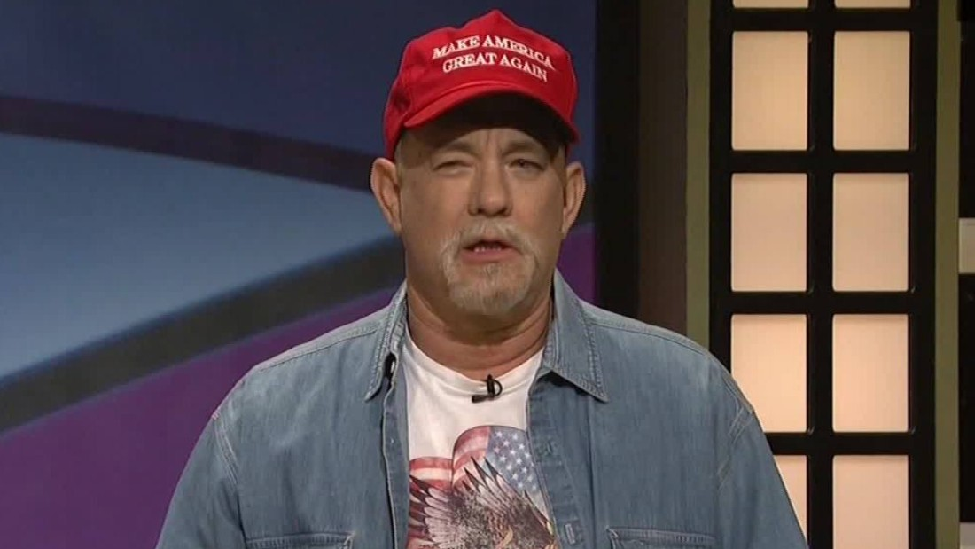 Hanks plays Trump supporter on 'Black Jeopardy'