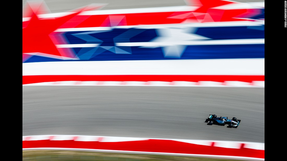 "Lewis Hamilton drives during the Formula One race <a href=""http://www.cnn.com/2016/10/23/motorsport/us-gp-hamilton-rosberg/index.html"" target=""_blank"">he won</a> in Austin, Texas, on Sunday, October 23. Hamilton has won seven of the year's 18 races, but he is still second in the standings behind Mercedes teammate Nico Rosberg."