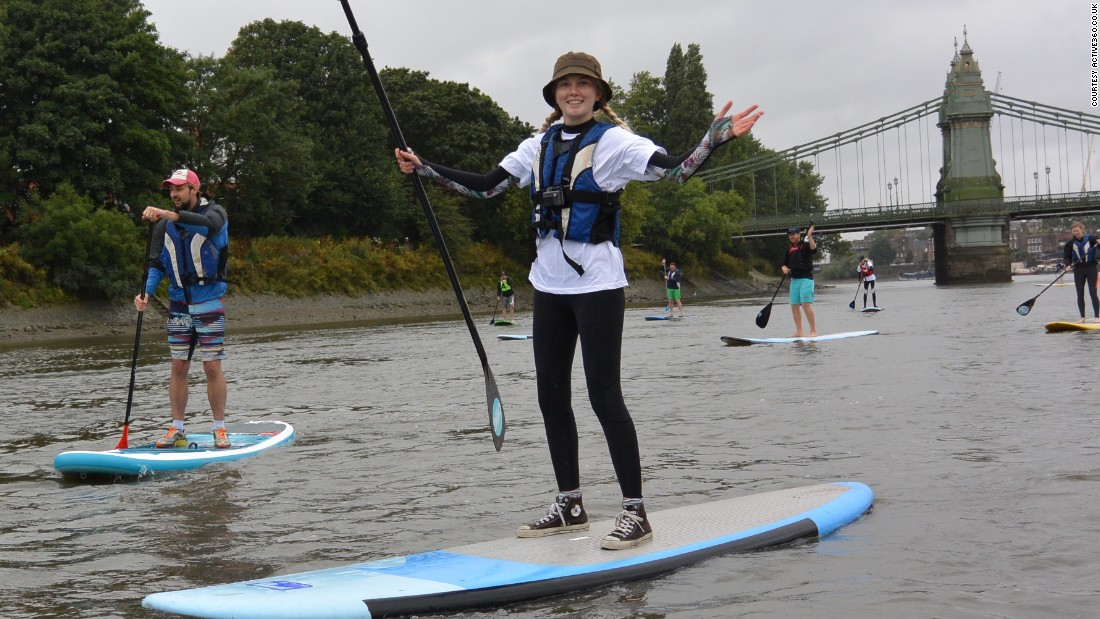 "UK paddle boarding company<a href=""http://www.active360.co.uk/"" target=""_blank""> Active360</a> says that visitors to London, particularly from the US and Canada, are increasingly choosing paddle boarding as a fun and different way to explore the city. The sport develops core abdominal muscles and balance."
