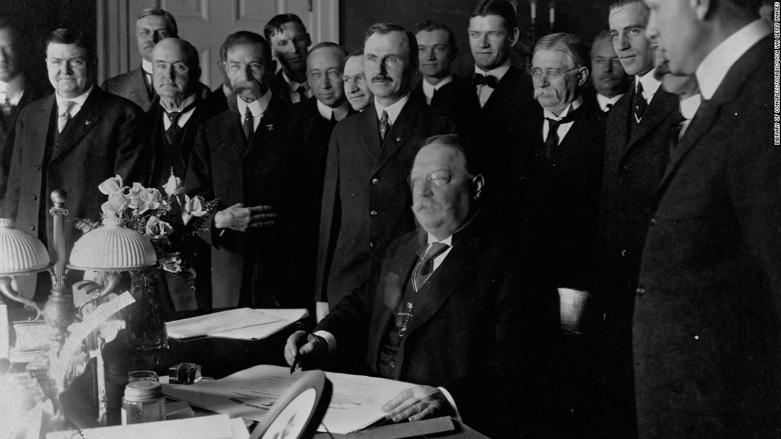 America's skies weren't so spacious when the Cubs were champs -- the United States had only 46 states then. But President William Taft signed New Mexico and Arizona into statehood in 1912.