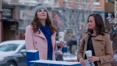 "Lauren Graham and  Alexis Bledel reprised their roles in  ""Gilmore Girls: A Year in the Life."""