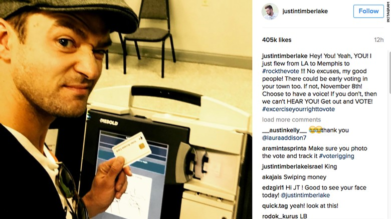 Did Justin Timberlake break the law with this selfie?