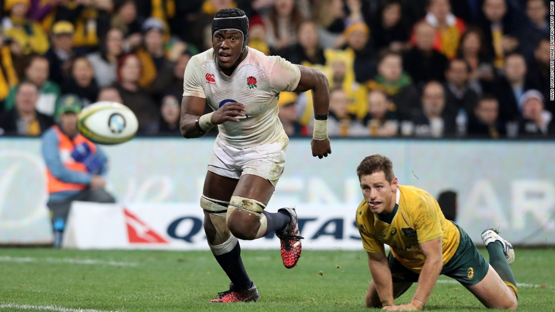Itoje played every minute of England's 3-0 whitewash over Australia in June 2016 -- the first time it had won an away series against the Wallabies. However, injury ruled him out of the November international series.