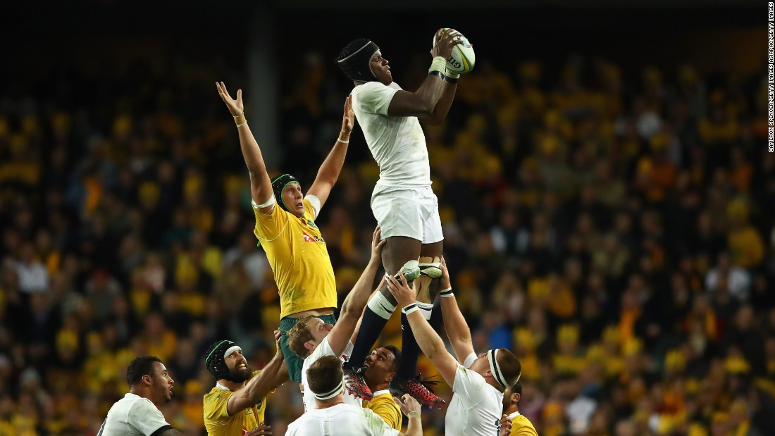His size and athleticism make the second-row forward a natural lineout target.
