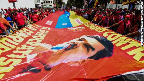 Venezuela opposition: Government violating constitution