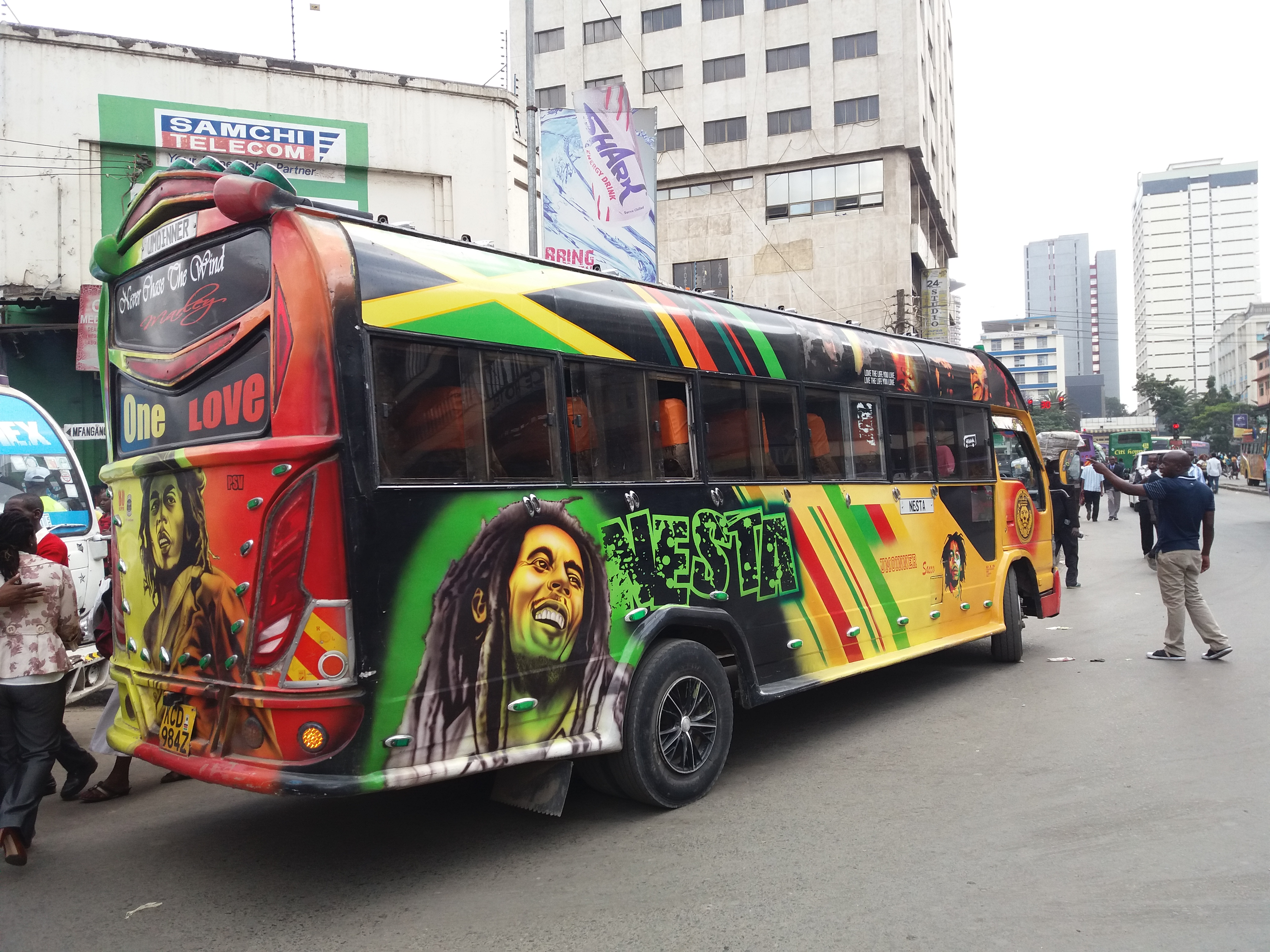 Matatus: Nairobi's loud, vibrant minibuses | CNN Travel