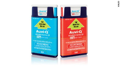 EpiPen competitor alternative Auvi-Q returning soon
