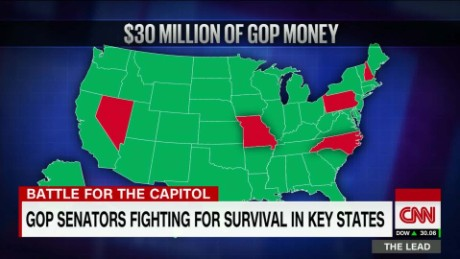GOP Super PAC, supporters' $30M effort to save Senate majority