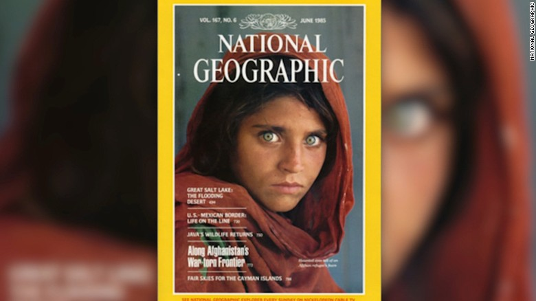 u0026 39 afghan girl u0026 39  in iconic national geographic photo arrested