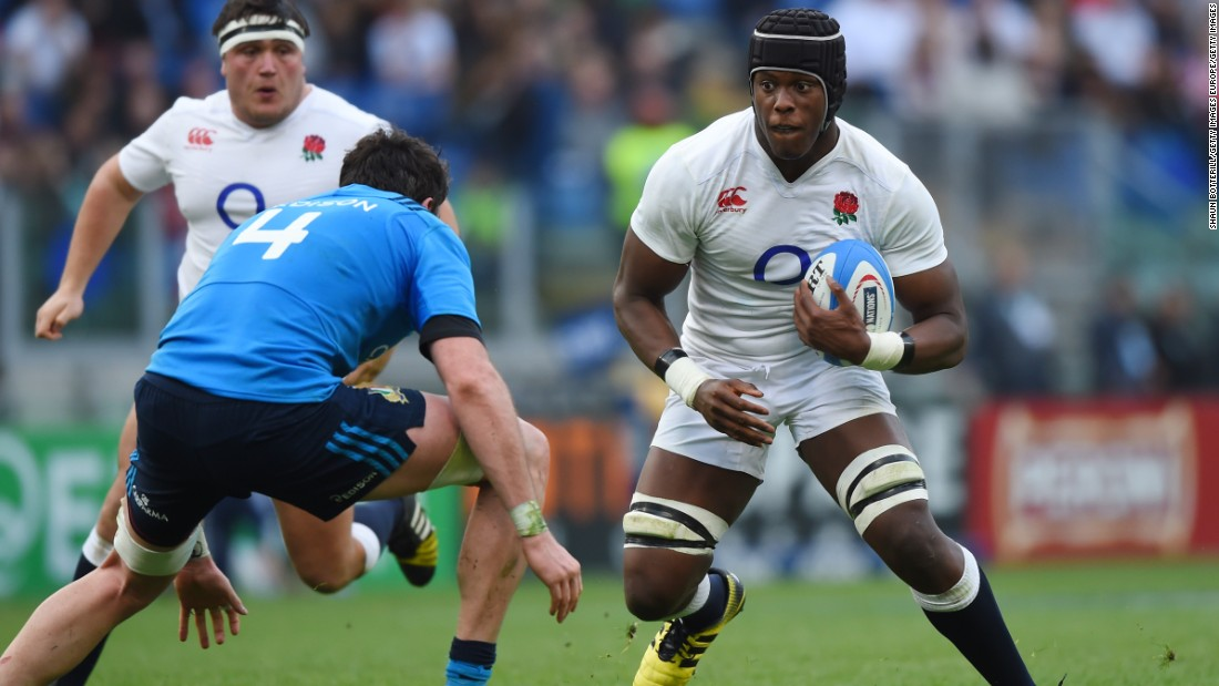 Itoje came off the bench to make his England debut in the 2016 Six Nations clash with Italy. He was man of the match against Wales later in the tournament as unbeaten England won its first title since 2011.
