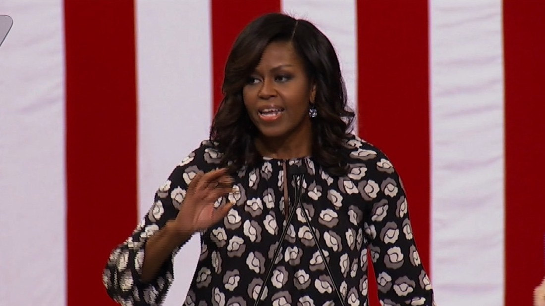 Dems can't get enough of FLOTUS -- and Clinton knows it
