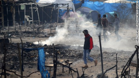 Some minors remain in dismantled Calais 'Jungle'