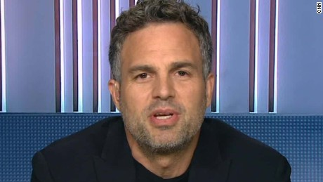 Actor Mark Ruffalo protests with tribe in North Dakota