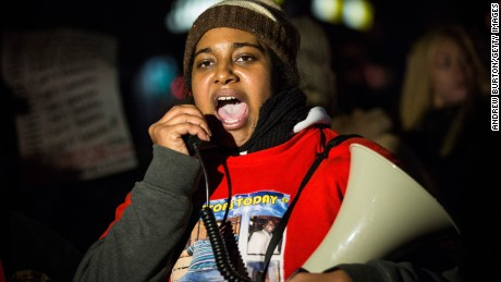 (2014) Erica Garner: 'Not a black & white issue'
