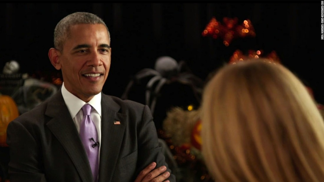 Obama: Clinton's ambition might be questioned if she's president