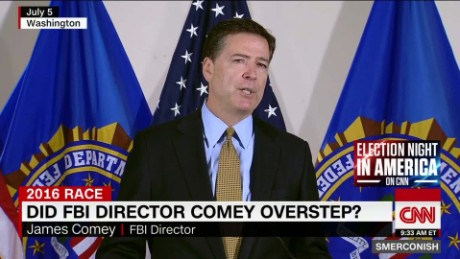 Did FBI director overstep in email to Congress?