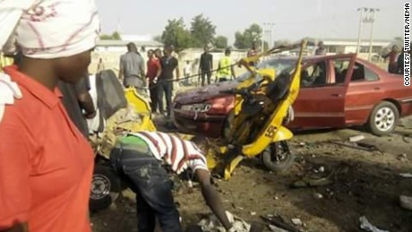 At least nine people were killed and 24 injured in two explosions in the city of Maiduguri, in northeastern Nigeria on Saturday, according to the country's National Emergency Agency (NEMA).