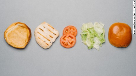 Burger King's menu, as selected by a nutritionist