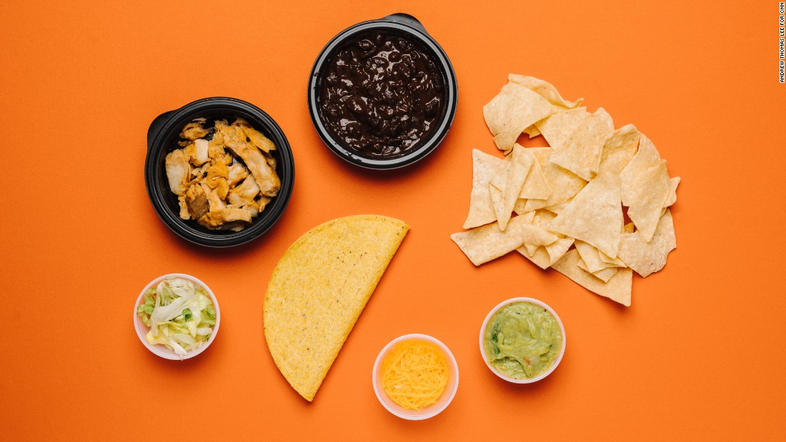You won't find a children's menu at Taco Bell anymore, but there are still good options for them. The crunchy taco with fire-grilled chicken, paired with black beans, delivers protein and fiber without topping the sodium charts.