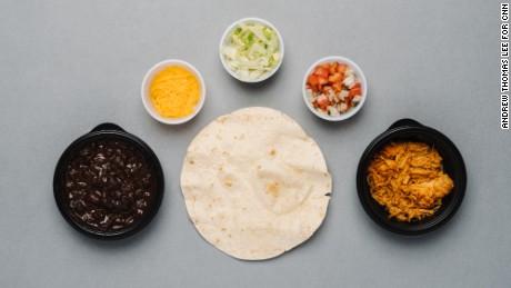 Taco Bell's menu, as selected by a nutritionist