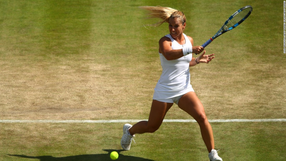 Having won her first grass-court title at the WTA's Eastbourne International, Cibulkova reached the Wimbledon quarterfinals in July.