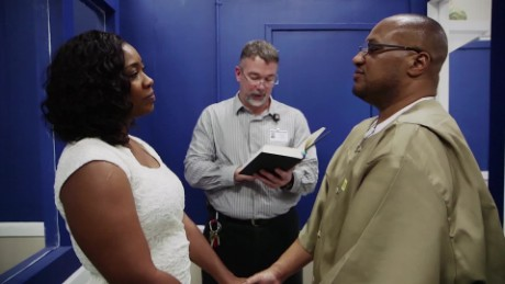 What's it like to get married in prison?