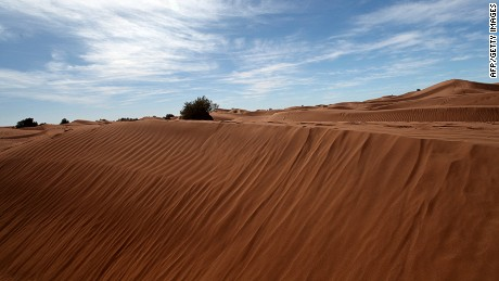 The Moroccan desert landscape has been a backdrop to hundreds of foreign films.