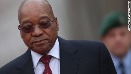 President Jacob Zuma has denied wrongdoing in the face of scandal.