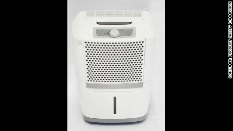 Multiple brands of dehumidifiers manufactured by Midea between January 2003 and December 2013 have been recalled due to a risk of fire and burns from overheating.