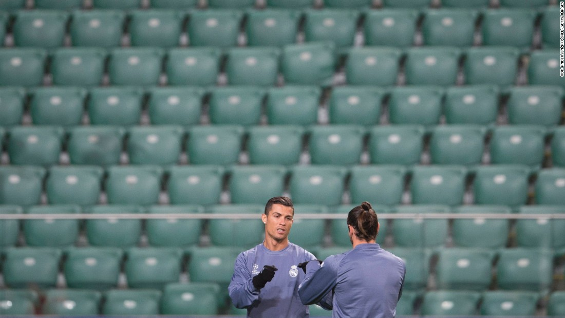Cristiano Ronaldo and Co. were faced with unfamiliar surroundings in Real Madrid's Champions League clash against Legia Warsaw.