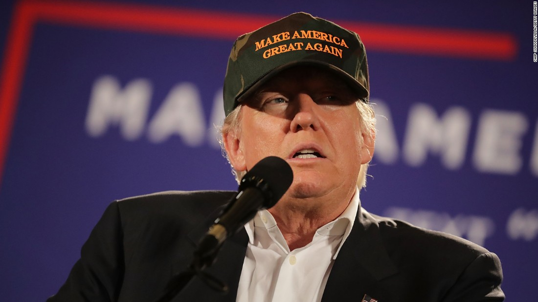 At rally, Trump says 'get out and vote for Roy Moore'