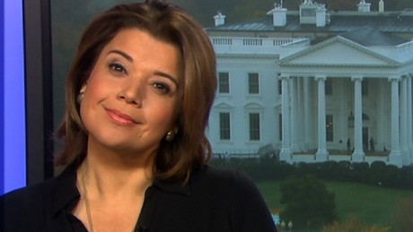 Navarro practices her 'listening woman' face