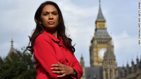 Gina Miller led a legal challenge against Prime Minister Theresa May's right to trigger Brexit negotiations without parliament's approval.