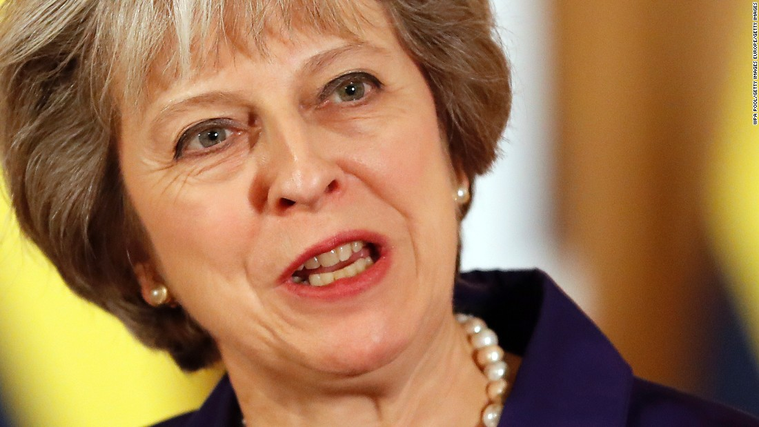 Brexit: Theresa May to unveil plan for 'global Britain'