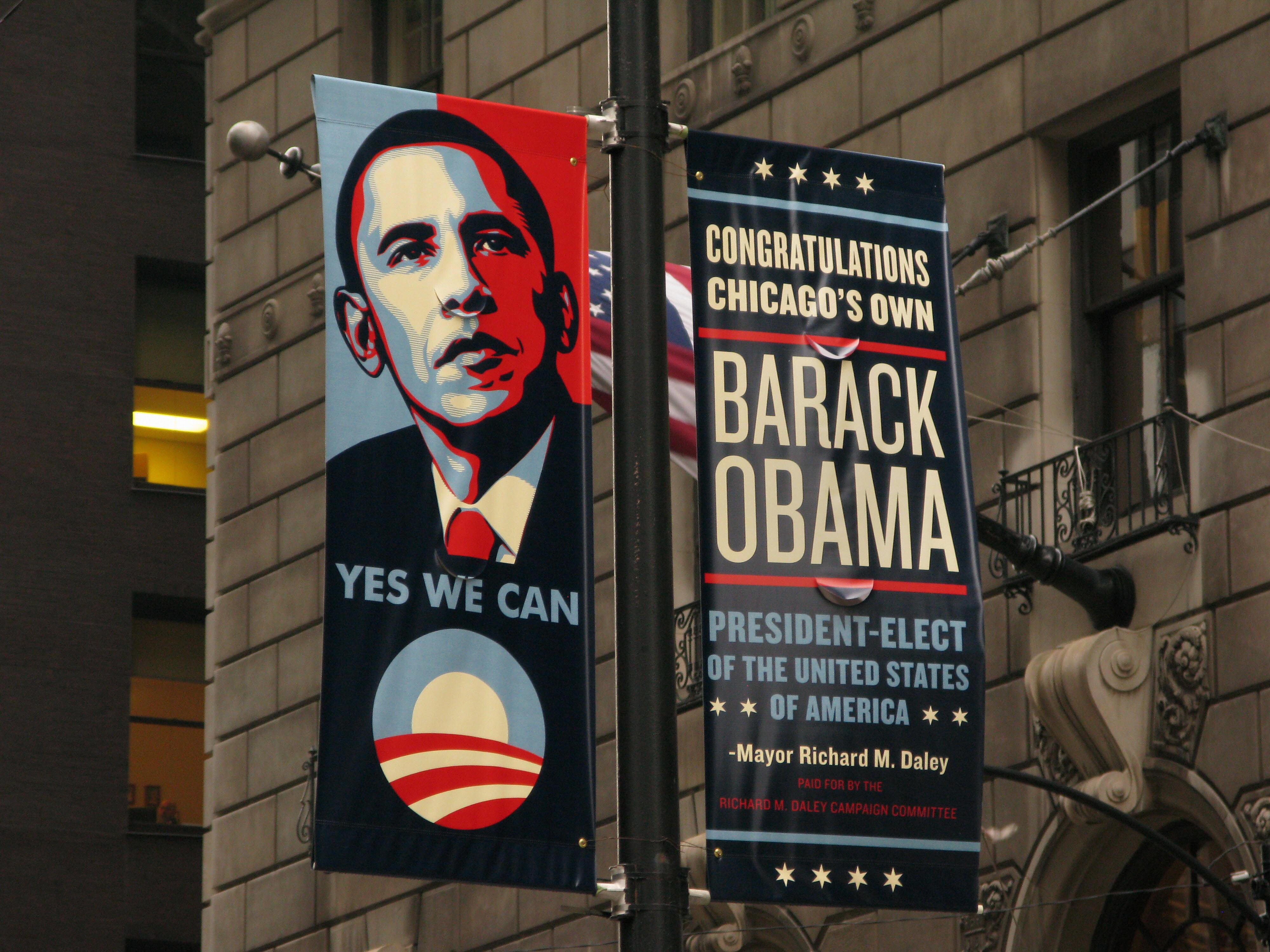 Obama Hope Artist S Orwellian Take On Donald Trump Cnn Style