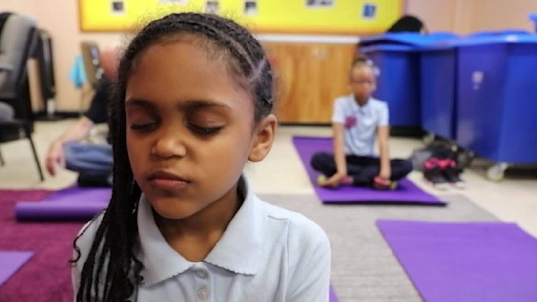 Instead of detention, these students get meditation