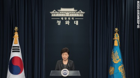 South Korean President Park accepts responsibility