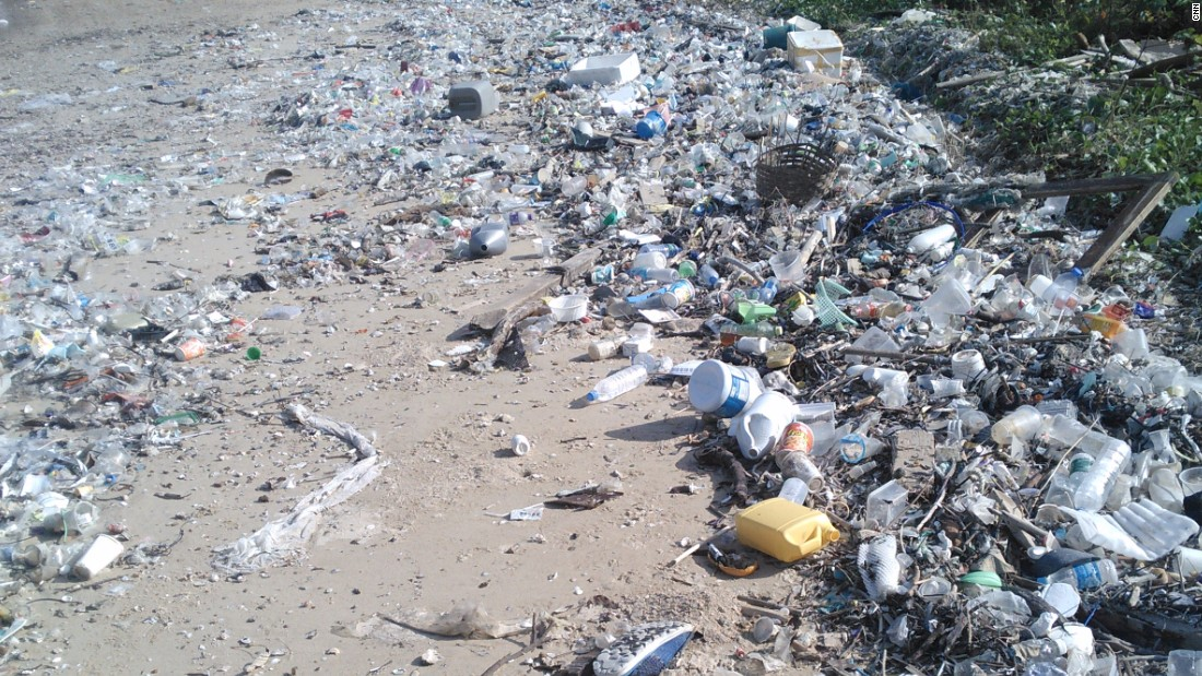 But thousands of tons of plastic are dumped into Hong Kong landfills every week.